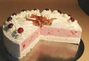 Halbgefrorene Torten
